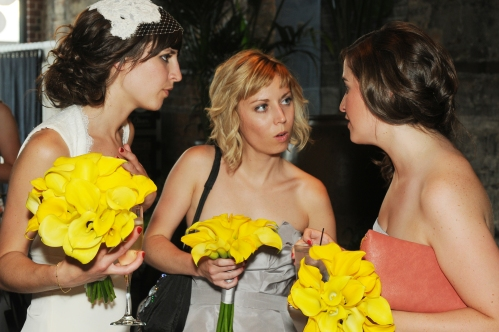 Gossiping at my wedding