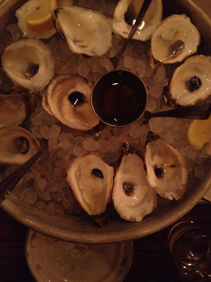 And all the Publican's oysters were gone
