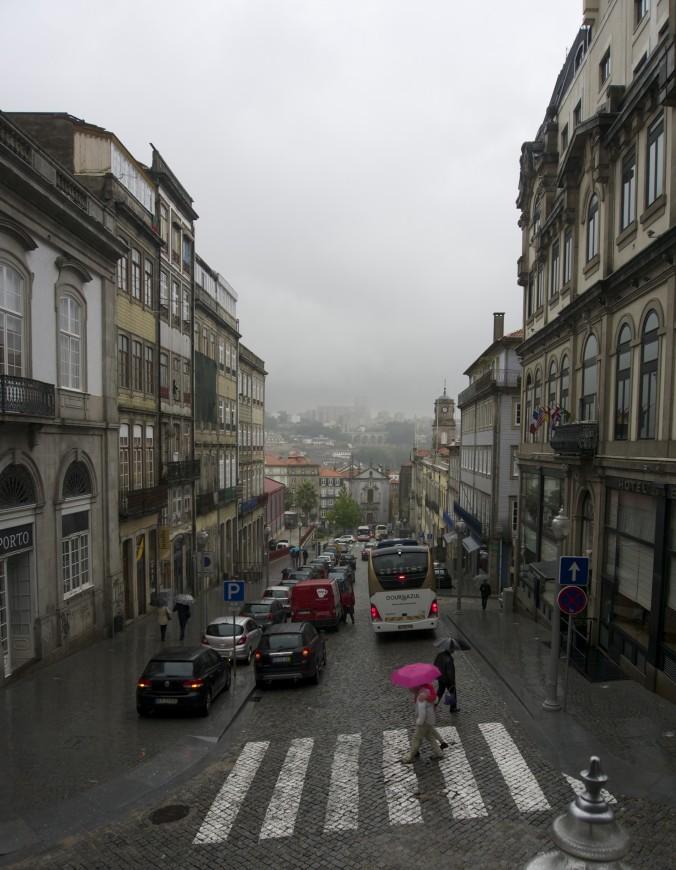Rainy Porto, Portugal